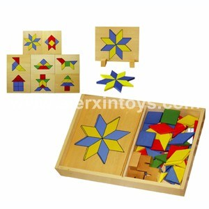 Wooden Shape Blocks (81408) pictures & photos
