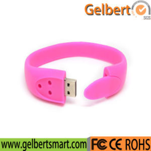 Hot Sale Custom USB Disk Wristband Bracelet USB Flash Drive pictures & photos