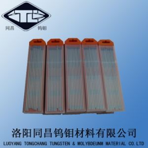 Wl20 Ground Tungsten Electrode for TIG Welding Dia3.2*175mm pictures & photos