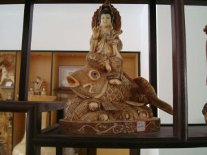 Antique Ivory Sculpture -8