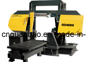 Double Column Band Sawing Machine for Metal Cutting Gd4260 pictures & photos