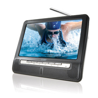 "8"" Portable Widescreen TFT LCD TV with NTSC Tuner (TFTV800)"