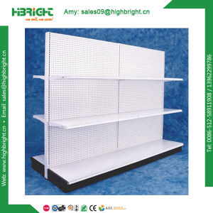 American Style Double Sided Super Market Gondola Shelving pictures & photos