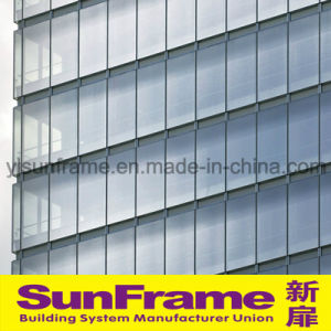 Aluminium Unitized Glazing Curtain Wall System pictures & photos