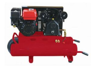 6.5HP Gas/Petrol Engine Portable Compressor pictures & photos