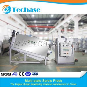 Dryer Sewage Treatment Machine for Marsh Gas Better Than Belt Press pictures & photos