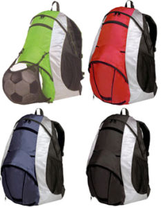 Waterproof School Sport Backpack with a Football Mesh Pouch (MS1050) pictures & photos