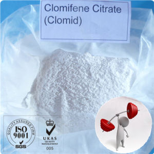Antiestrogen Steroids Powder Clomifene Citrate with Competitive Price pictures & photos