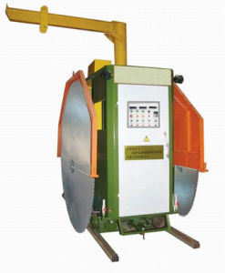 Double Blade Stone Cutter (Stone Quarry Saw, Quarry Mining Cutter)