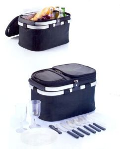 Thermal Insulated Ice Cooler Cooling Picnic Basket Hamper pictures & photos