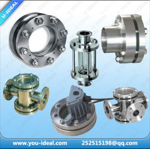 Pipe Fittings - Cross - Welded-Tubular Sight Glass Flow Indicator pictures & photos