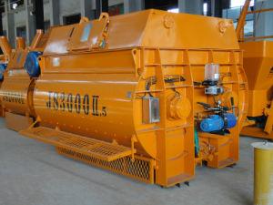 3000L Twin Shaft Concrete Mixer (Js3000II) pictures & photos