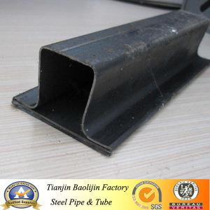 Low Carbon Q195 Black Annealed Ltz Window Steel Pipe pictures & photos
