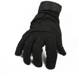Tactical Full Finger Airsoft Military Hunting Cycling Protective Sports Gloves Black pictures & photos