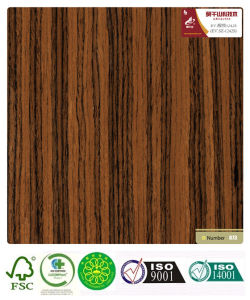 Rosewood Reconstructed Veneer (1242S) with ISO and Fsc Certificated