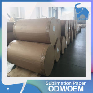 Factory Wholesale Light Glossy Heat Transfer Printing Paper Rolls for Textile pictures & photos