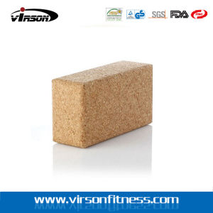 Natural Cork Best Yoga Block with High Hardness