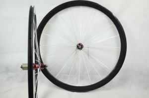 38mm Clincher Carbon Bicycle Wheels (FRX-W38C)