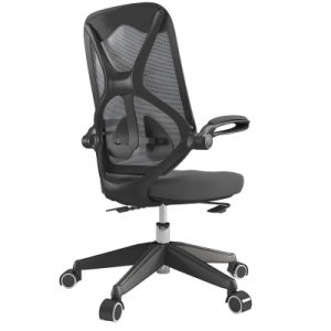 Mesh Swivel Office Chair for Home Study with Ergonomic High Back pictures & photos