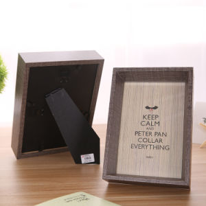Rectangle 8-Inch Picture Frame Photo Decorative Wooden Frame pictures & photos