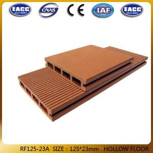 Wood Plastic Composite, Solid WPC Flooring 125*23mm
