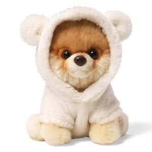 Soft Animals Stuffed Dog Toy Plush Pomeranian Toy