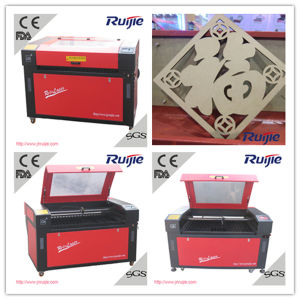 Manufacturer 80W Glass Acrylic Wood Laser Engraving Machine (RJ-1280s) pictures & photos