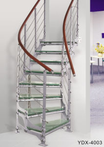 Stainless Steel Staircase (YDX-4003) pictures & photos