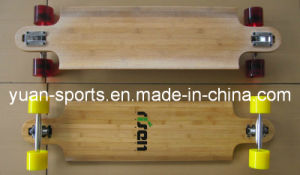 Durable 5 Layer Bamboo Deck Skateboard pictures & photos