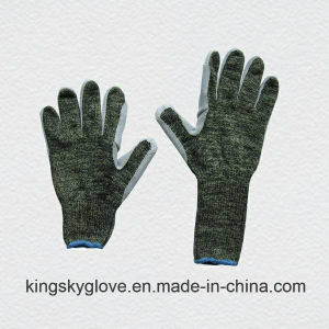 Metal Mesh Cut Resistance String Knitted Work Glove-2309 pictures & photos