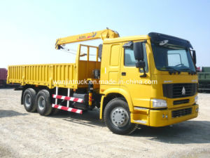 HOWO 10ton Truck Mounted Crane pictures & photos