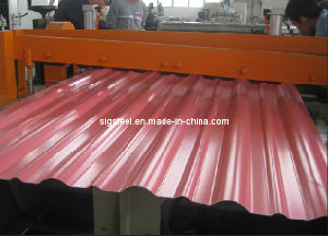 Perpainted Galvanized Corrugated Steel Sheet pictures & photos