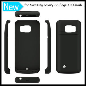 4200mAh Power Battery Case Cover for Samsung Galaxy S6 Edge pictures & photos