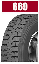 Heavy Load Brand Radial Truck Tire 669
