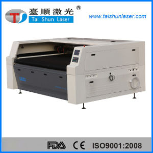 Textile/Leather/Fabric Laser Cutting Machine 180100 with Double Head pictures & photos