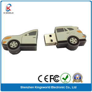 Rubber Car USB Flash Memory