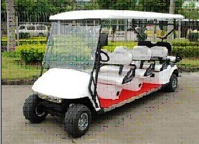 Eight Seats Golf Car