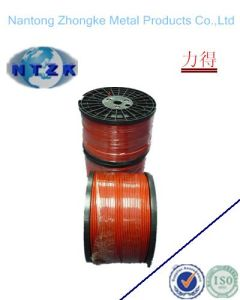6*7+FC Orange Color PVC Coated Steel Wire Rope pictures & photos