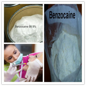 Buy 99.5% Purity Local Anesthetic Drug Benzocaine for Relieving Pains pictures & photos