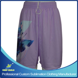 Custom Sublimation Girl′s Lacrosse Game Shorts pictures & photos