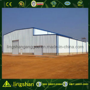 Light Prefabricated Steel Structure Workshop (LS-SS-078) pictures & photos