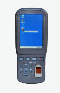 Fingerprint Handheld Terminal (GPS+GPRS+MF)
