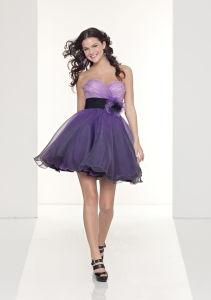 Cute Sexy Short Satin Evening Dress 9041