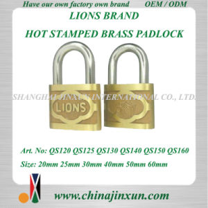 Lions Brand Brass Padlock (QS120-QS160)