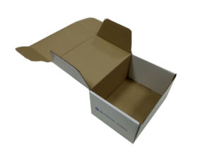 Colored Moving Boxes Corrugated Kraft Paperboard with Logo Printing pictures & photos