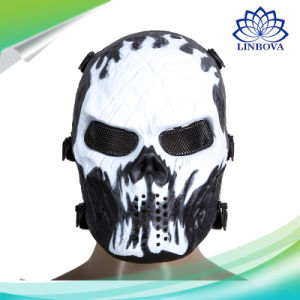 Army Games Mesh Eye Shield Protection Halloween Party Skull Skeleton Mask Airsoft Paintball Full Face Mask pictures & photos