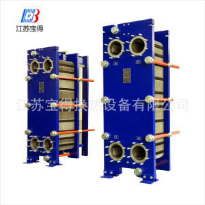 Sh200 High Thermal Efficiency Steam Plate Heat Exchanger Mild Steel Epoxy Painted Frame Plate (ALFA LAVAL TS20M) pictures & photos