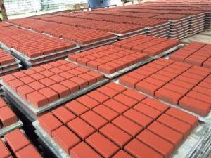 Concrete Water Permeable Plaza Ceramic Brick Acid Proof Brick pictures & photos