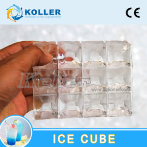 1 Ton/Day Food-Grade Ice Cube Machine for Restaurant/Bars/Supermarkets pictures & photos