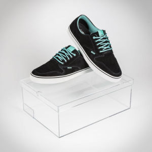 China Good Price Customized Clear Acrylic Shoe Box/Shoe Display Box pictures & photos